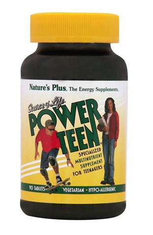 Nature's Plus Power Teen 90 Ταμπλέτες