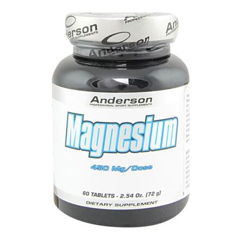 Anderson Magnesium 450mg, 60 Ταμπλέτες