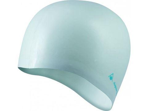 Classic Silicone Swim Cap Σκουφάκι Κολύμβησης Ασημί