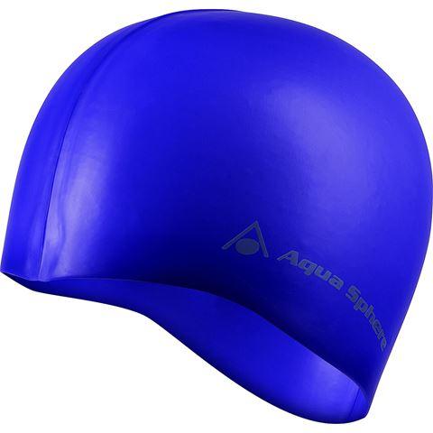 Classic Silicone Swim Cap Σκουφάκι Κολύμβησης Μπλε