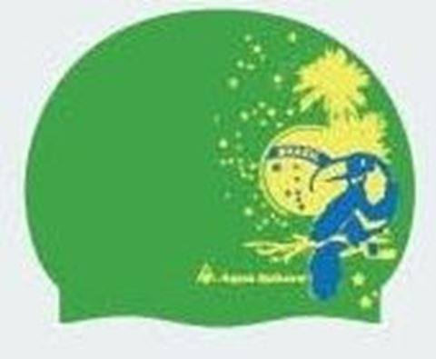 Coco Cup Junior, Παιδικό Σκουφάκι Κολύμβησης Πράσινο