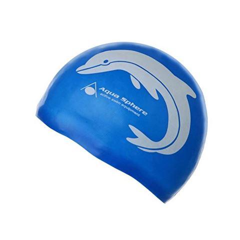 Silicone Swim Cap Junior, Παιδικό Σκουφάκι Κολύμβησης Μπλε