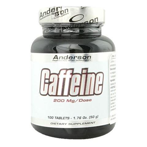 Anderson Energy Caffeine 100 Ταμπλέτες