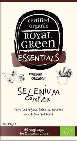 Royal Green Organic Selenium Complex 60 Κάψουλες