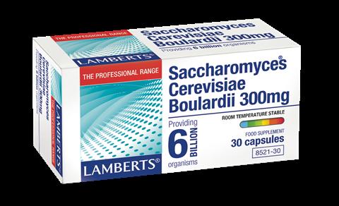 Lamberts Saccharomyces Boulardii 300mg, 30 Κάψουλες