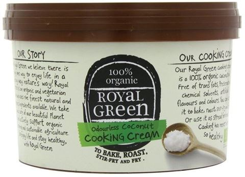 Royal Green Coconut oil Άοσμη Κρέμα Καρύδας 500gr