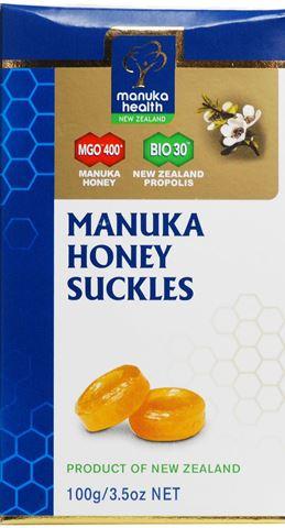Manuka Health Φυσικές Καραμέλες με Πρόπολη & Μέλι Manuka MGO400, 100g