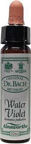 AM Health Water Violet - Ανθοίαμα Bach από την Ainsworths 10ml