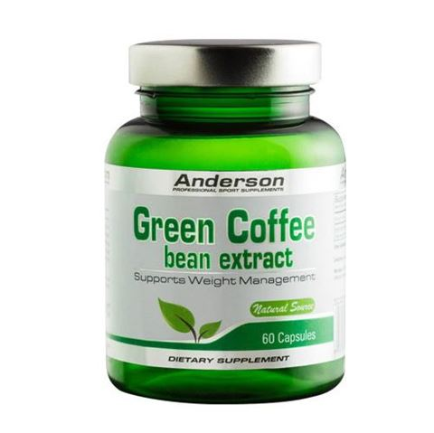 Anderson Green Coffee Bean Extract 60 Κάψουλες