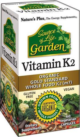 Nature's Plus Garden Vitamin K2 60 Φυτικές Κάψουλες