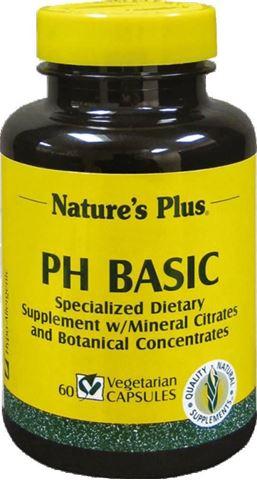 Nature's Plus PH Basic 60 Φυτικές Κάψουλες