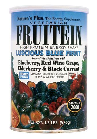 Nature's Plus Frutein Luscious Blue Fruit Shake 576gr