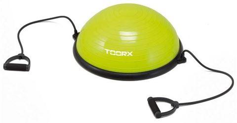 Gym Ball με Λάστιχα Toorx 10-432-151, Διάμετρος: 58 cm, 6kg