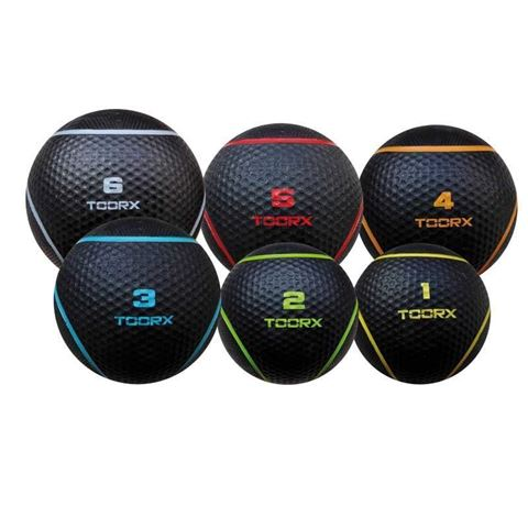 Medicine Balls Toorx 10-432-133, Διάμετρος: 22 cm, 4kg