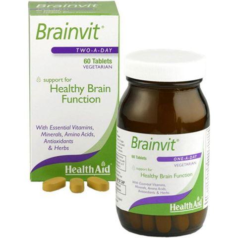 Health Aid BrainVit 60 Ταμπλέτες