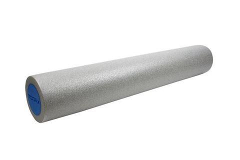 Foam roller Κύλινδρος ισορροπίας TOORX, 10-432-125, Ασημί / Μπλε, 90 x 15 cm