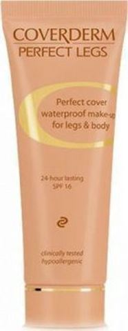 Coverderm Perfect Legs Waterproof 01, SPF16, 50ml