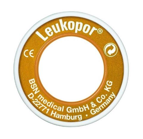 Leukopor Υποαλλεργική Επιδεσμική Ταινία - 5m x 2,5cm, 378317