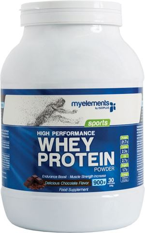 My Elements High Performance Whey Protein powder 900g Σοκολάτα