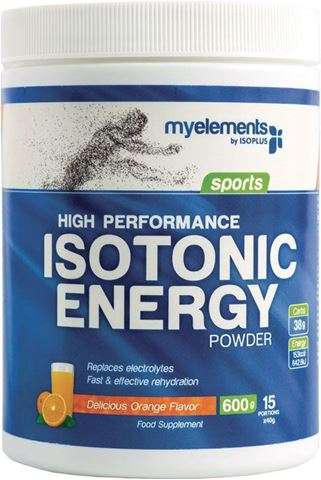 My Elements High Performance Isotonic Drink 600g, Πορτοκάλι