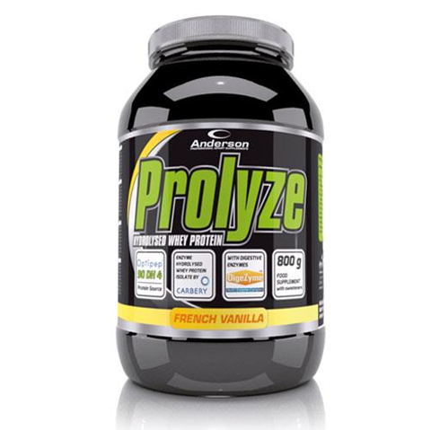 Anderson Prolyze Hydrolysed Whey Protein French Vanilla 800g