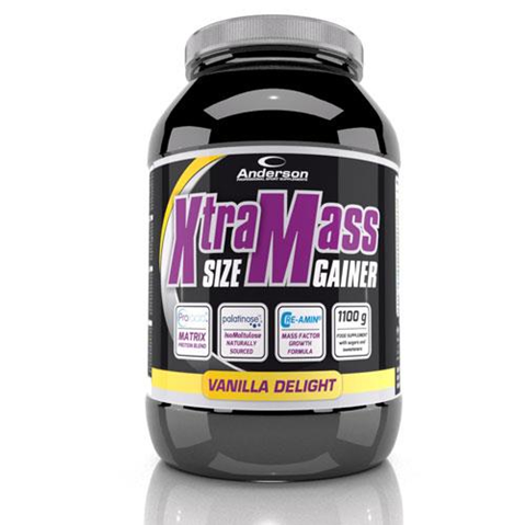 Anderson Xtra Mass Size Gainer Vanilla Delight 1100gr