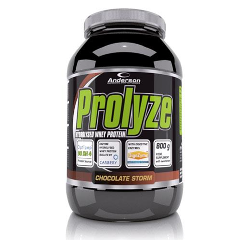 Anderson Prolyze Hydrolysed Whey Protein Chocolate Storm 800g