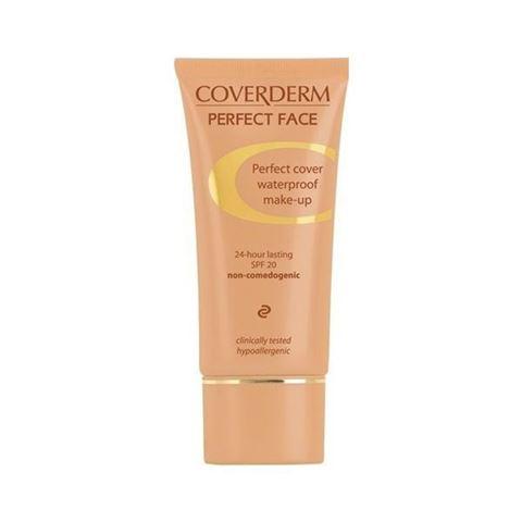 Coverderm Perfect Face Waterproof SPF20 Νο02, 30ml