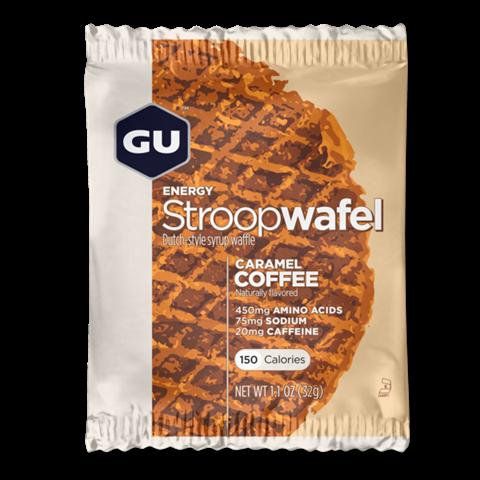 """Ενεργειακές Βάφλες – GU Energy Waffles """"Stroopwafel"""" Caramel Coffee, 32γρ"""