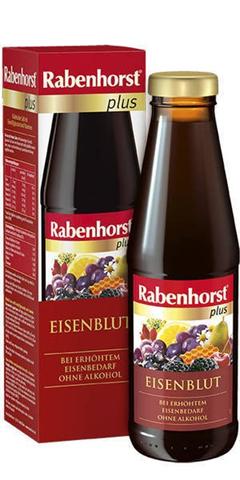 Rabenhorst Plus Χυμός Φρούτων με Σίδηρο 450ml