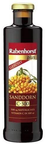 Rabenhorst Plus Πολτός Ιπποφαές με Αρσεόλα 450ml