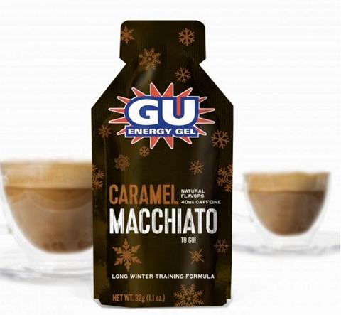 Ενεργειακό gel GU - Γεύση Καραμέλα Καφές Μακιάτο (Caramel Macchiato) - καφεΐνη 40mg 32gr