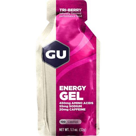 Ενεργειακό gel GU - Γεύση Βατόμουρο (Tri-Berry) - καφεΐνη 20mg, 32gr