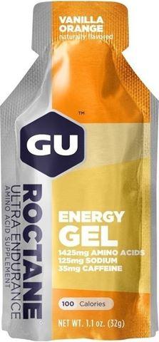 Ενεργειακό gel GU ROCTANE - Γεύση Bανίλια-Πορτοκάλι (Vanilla-Orange) - καφεΐνη 35mg, 32gr