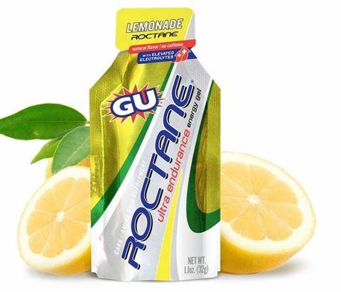 Ενεργειακό gel GU ROCTANE - Γεύση Λεμονάδα (Lemonade) - χωρίς καφεΐνη, 32gr