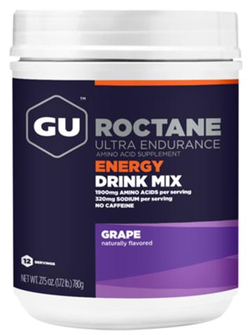 Ενεργειακό ποτό με Hλεκτρολύτες & Yδατάνθρακα GU ROCTANE Drink - Γεύση Grape, 780gr