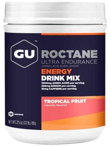 Ενεργειακό ποτό με Hλεκτρολύτες & Yδατάνθρακα GU ROCTANE Drink - Γεύση Tropical, 780gr