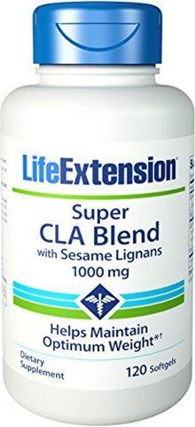 Life Extension Super CLA Blend with Sesame Lignans,120 Μαλακές Κάψουλες