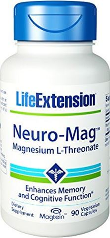 Life Extension Neuro-Mag Magnesium L-Threonate ,90 Φυτικές Kάψουλες