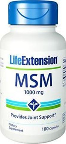 Life Extension MSM 1000mg, 100 Κάψουλες