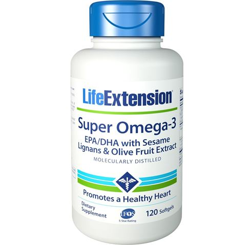 Life Extension Super Omega 3 EPA/DHA 120 Κάψουλες