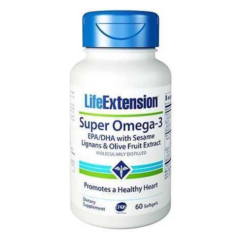 Life Extension Super Omega 3 EPA/DHA 60 Μαλακές Κάψουλες