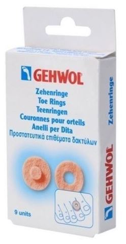Gehwol Toe Ring Round, Συσκευασία 9 Τεμαχίων