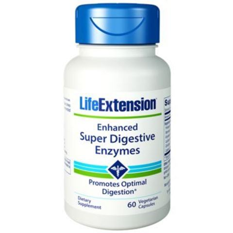 Life Extension Super Digestive Enzymes, 60 Φυτικές Κάψουλες