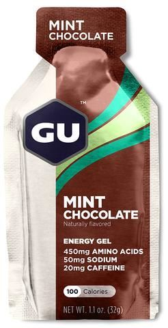 GU ενεργειακό gel Γεύση Μέντα Σοκολάτα - καφεΐνη 20mg, 32gr