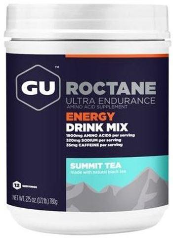 """Ενεργειακό ποτό με Hλεκτρολύτες & Yδατάνθρακα GU ROCTANE Drink - Γεύση """"Summit Tea"""", 780gr"""