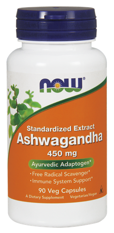 Now Foods Ashwagandha Extract 450mg, 90 Φυτικές Κάψουλες