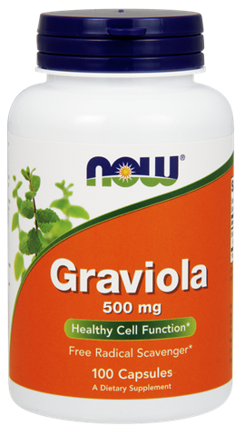 Now Foods Graviola 500mg, 100 Κάψουλες