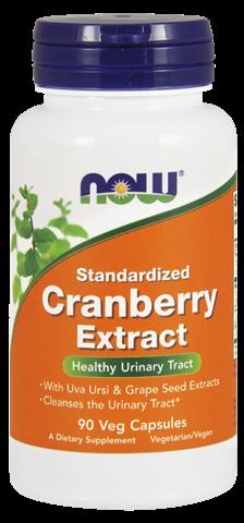 Now Foods Cranberry Standardized w/ Uva Ursi 90 Φυτικές Κάψουλες