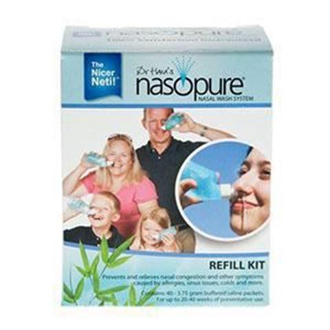 Nasopure Refill Kit 40 Τεμάχια